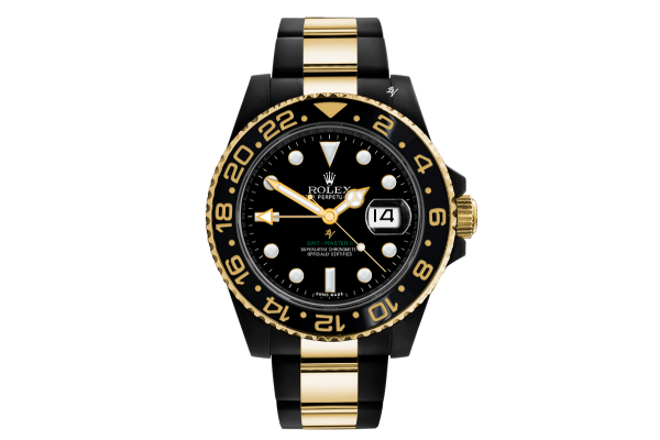 Steel-Gold  - Limited edition /35 Black Venom Dlc - Pvd