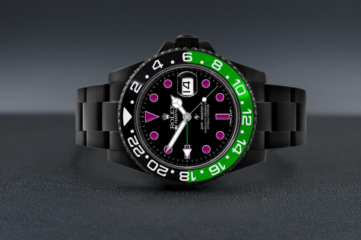 Rolex Joker - Limited Edition /10 Black Venom Dlc - Pvd *