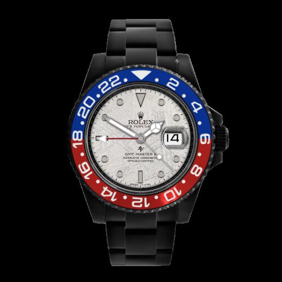 Rolex Meteorite Limited Edition /10 Black Venom Dlc - Pvd