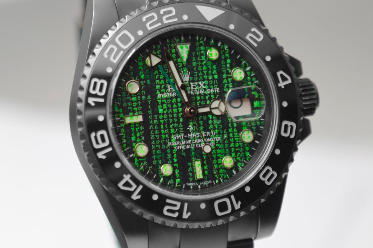 Rolex Matrix - Limited Edition /10 Black Venom Dlc - Pvd *