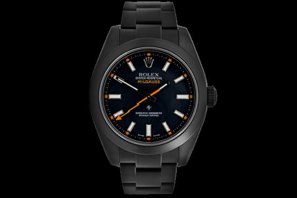 Rolex Black Dial - Limited Edition /35 Black Venom Dlc - Pvd