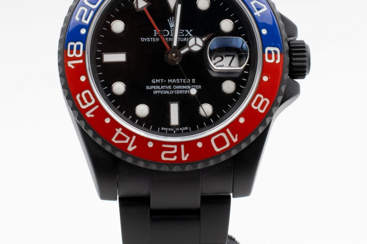 Rolex Limited Edition /35 Black Venom Dlc - Pvd *