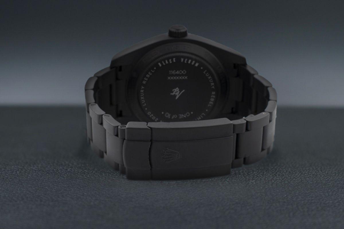 Rolex Clean Green - Limited Edition /10 Black Venom Dlc - Pvd *