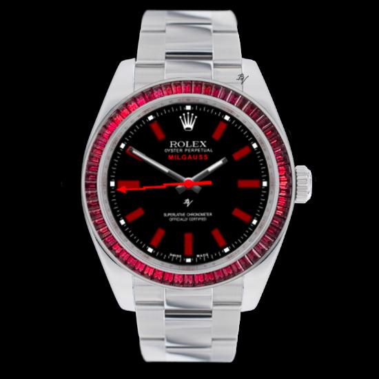 Rolex Martyr - Limited edition /5 - Black Venom custom