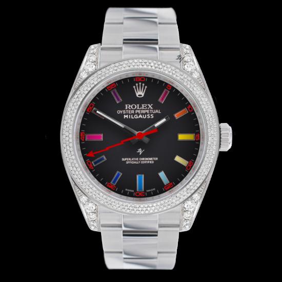 Rolex Milgauss Shade - Limited edition /5 - Black Venom custom
