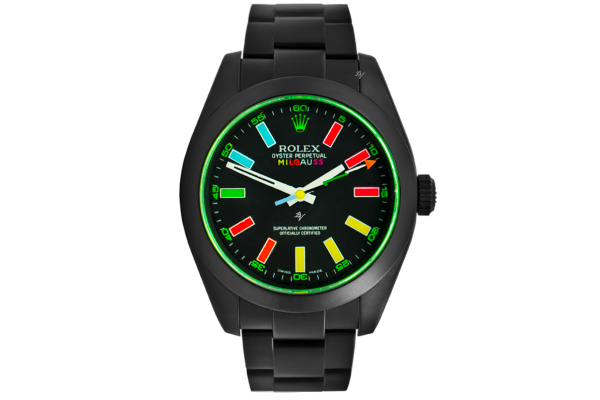 Rolex Smile - Limited Edition /5 Black Venom Dlc - Pvd *