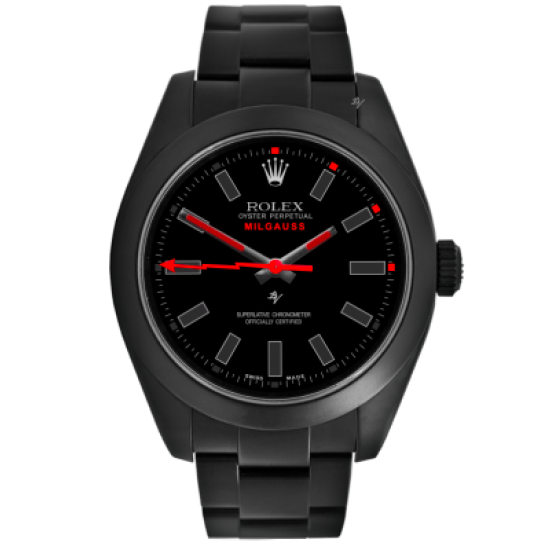 Rolex Red Taste - Limited Edition /10 Black Venom Dlc - Pvd *