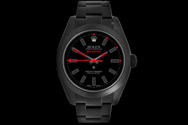 Rolex Red Taste - Limited Edition /10 Black Venom Dlc - Pvd *