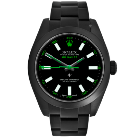 Rolex Limited Edition /10 Black Venom Dlc - Pvd *