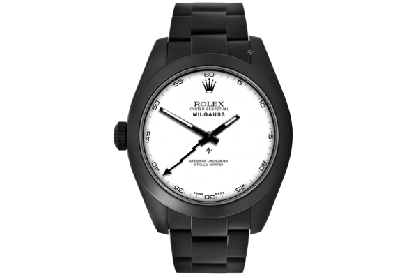 Rolex Right handed - Limited Edition /10 Black Venom Dlc - Pvd *