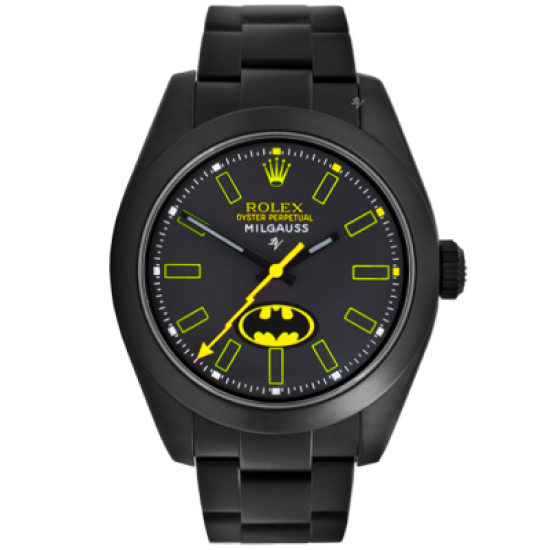 Rolex Batman - Limited Edition /5 Black Venom Dlc - Pvd *