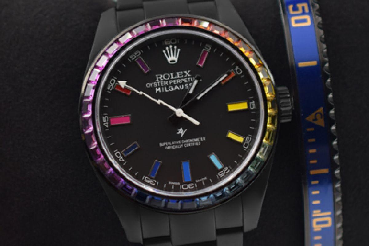 Rolex Rainbow MK2 - Limited Edition /5 Black Venom Dlc - Pvd *