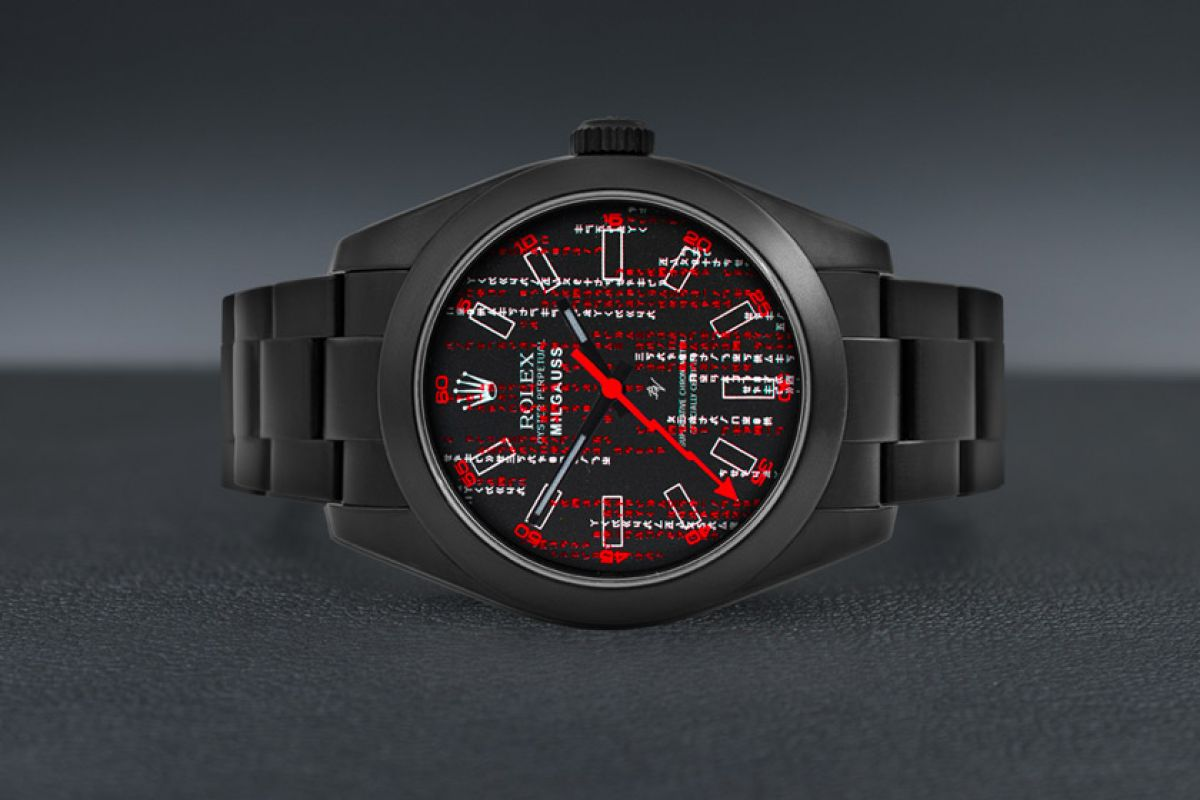 Rolex Reminescence - Limited Edition /5 Black Venom Dlc - Pvd *