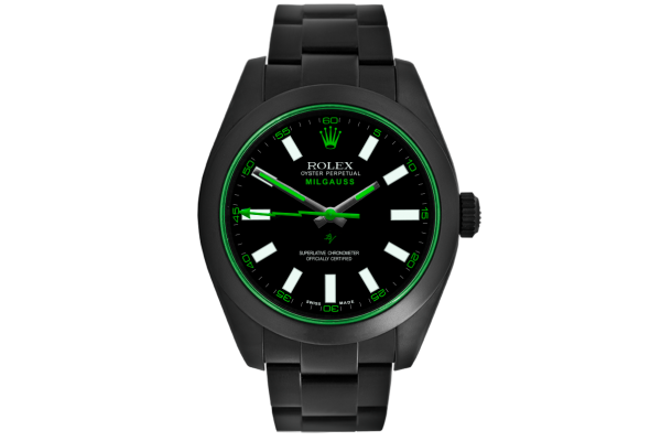 Rolex Clean Green - Limited Edition /10 Black Venom Dlc - Pvd