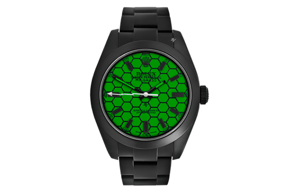 Turtle - Limited Edition /10 Black Venom Dlc - Pvd *