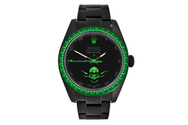 Yoda - Limited Edition /5 Black Venom Dlc - Pvd *