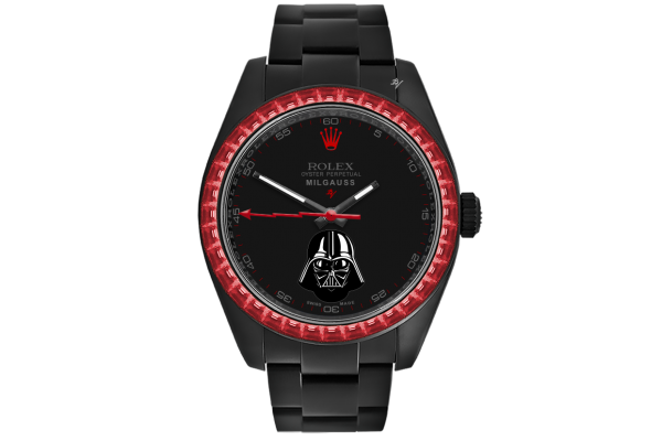 Rolex Darth Vader - Limited Edition /5 Black Venom Dlc - Pvd *