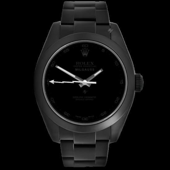 Rolex Pitch Black - Limited Edition /10 Black Venom Dlc - Pvd