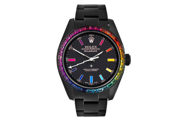 Rainbow MK2 - Limited Edition /5 Black Venom Dlc - Pvd *