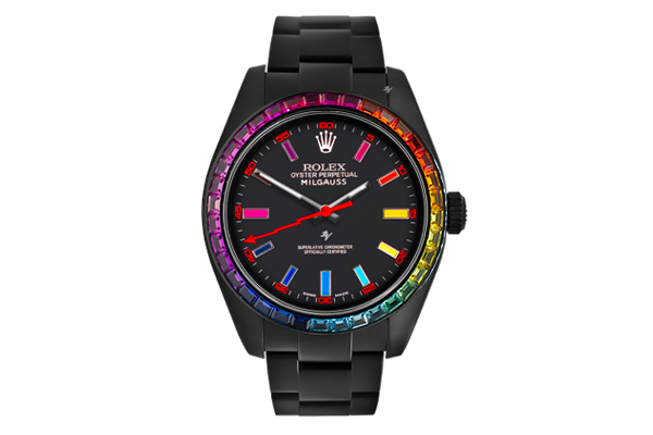 Rainbow MK1 - Limited Edition /5 Black Venom Dlc - Pvd *