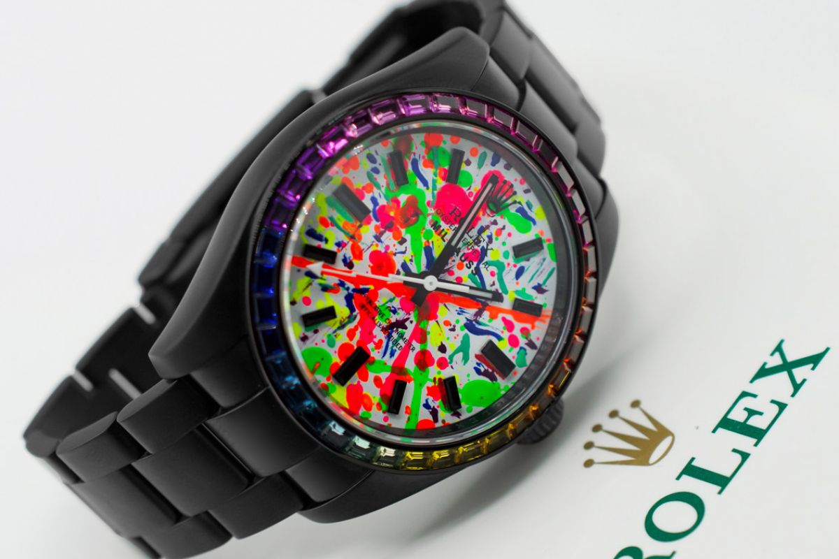 Rolex Manolito - Limited Edition /1 Black Venom Dlc - Pvd *