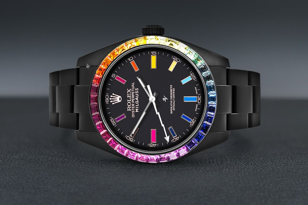 Rolex Rainbow MK2 - Limited Edition /5 Black Venom Dlc - Pvd