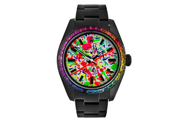 Manolito - Limited Edition /1 Black Venom Dlc - Pvd *