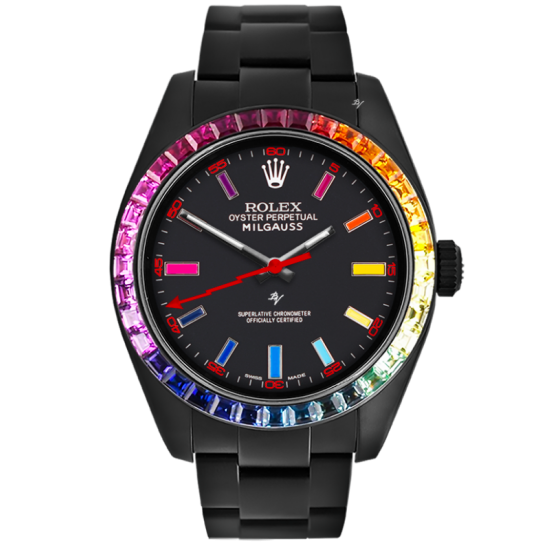 Rolex Rainbow MK1 - Limited Edition /5 Black Venom Dlc - Pvd *