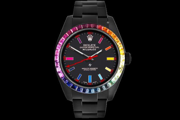 Rolex Rainbow MK1 - Limited Edition /5 Black Venom Dlc - Pvd *