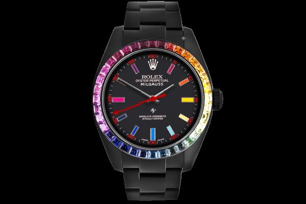 Rolex Rainbow MK1 - Limited Edition /5 Black Venom Dlc - Pvd