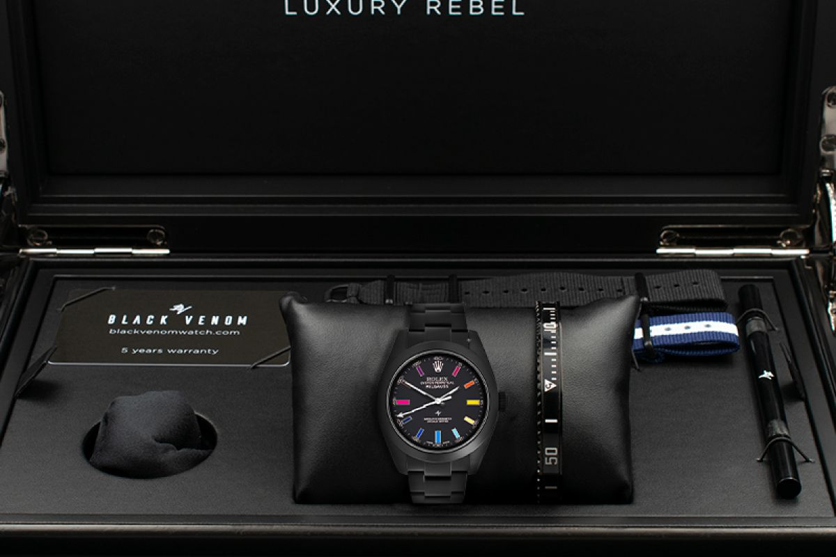 Rolex Rainbow MK2 - Limited Edition /5 Black Venom Dlc - Pvd *
