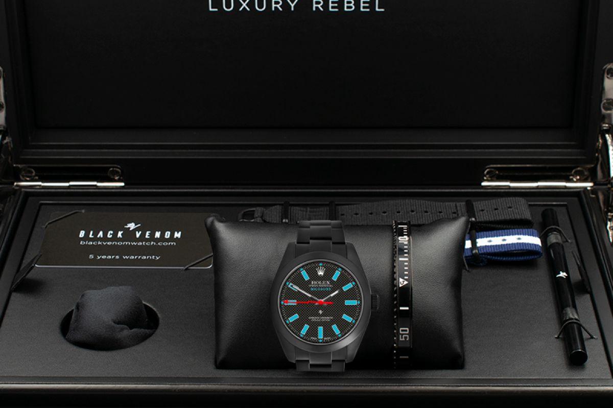 Rolex  Square Pattern MK2 - Limited Edition /10 Black Venom Dlc - Pvd *