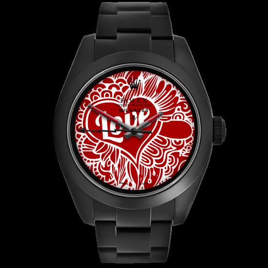 Rolex Love - Limited Edition /10 Black Venom Dlc - Pvd