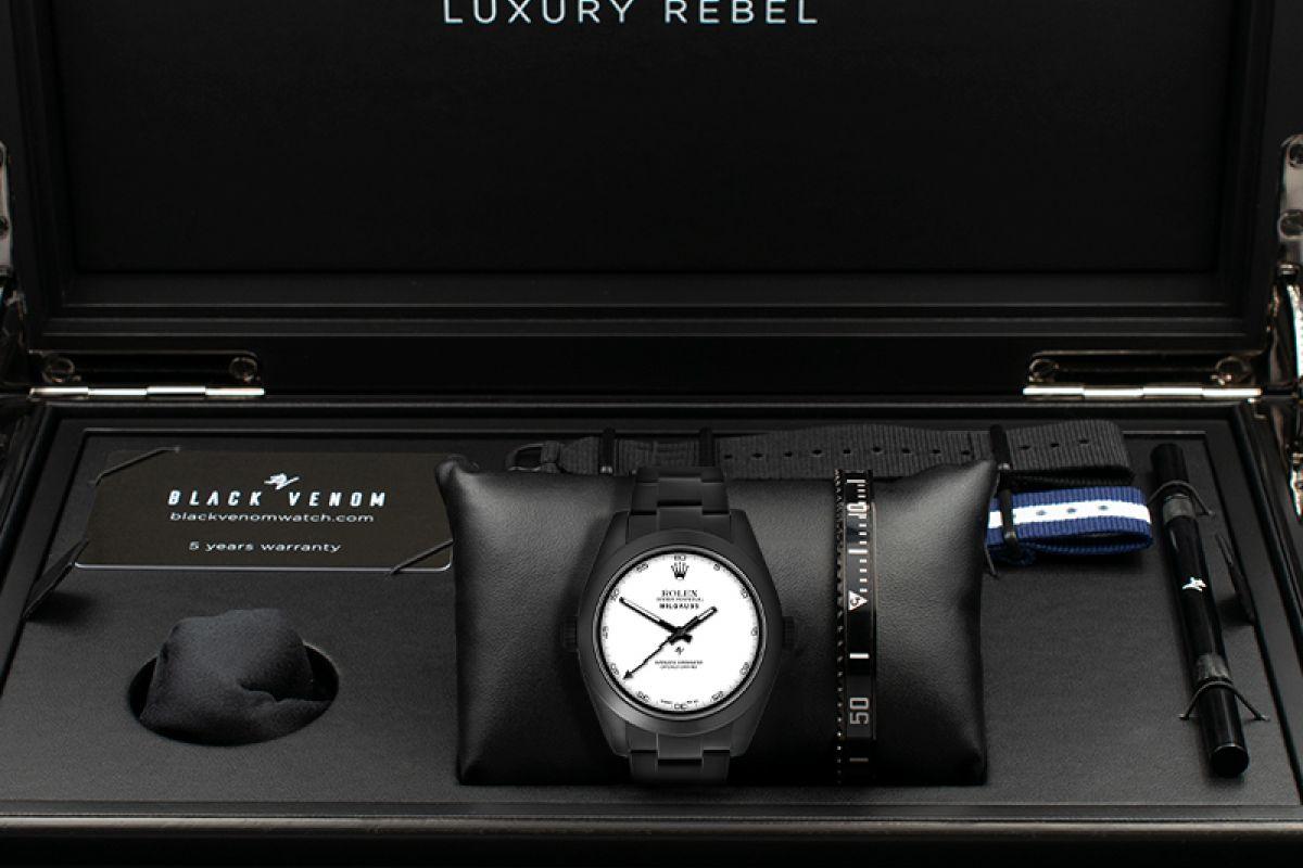 Rolex Limited Edition /10 Black Venom Dlc - Pvd *