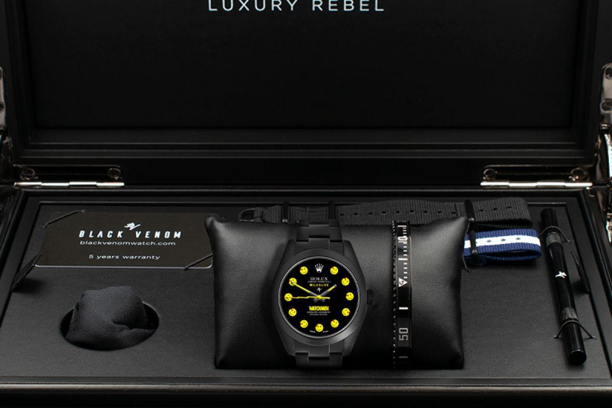 Rolex Watchman - Limited Edition /5 Black Venom Dlc - Pvd