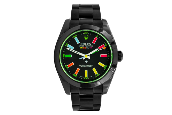 Rolex 116400 Black Venom - Rainbow - Limited Edition /5