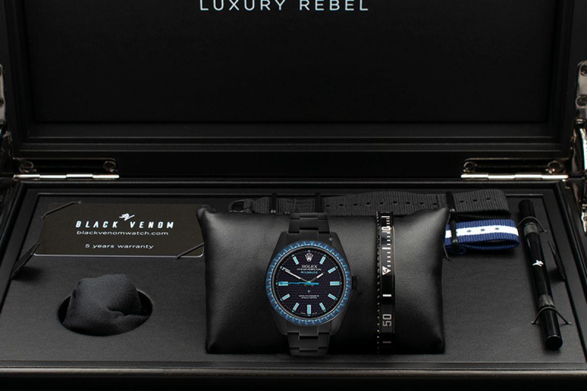 Rolex Topaz - Limited Edition /5 Black Venom Dlc - Pvd *