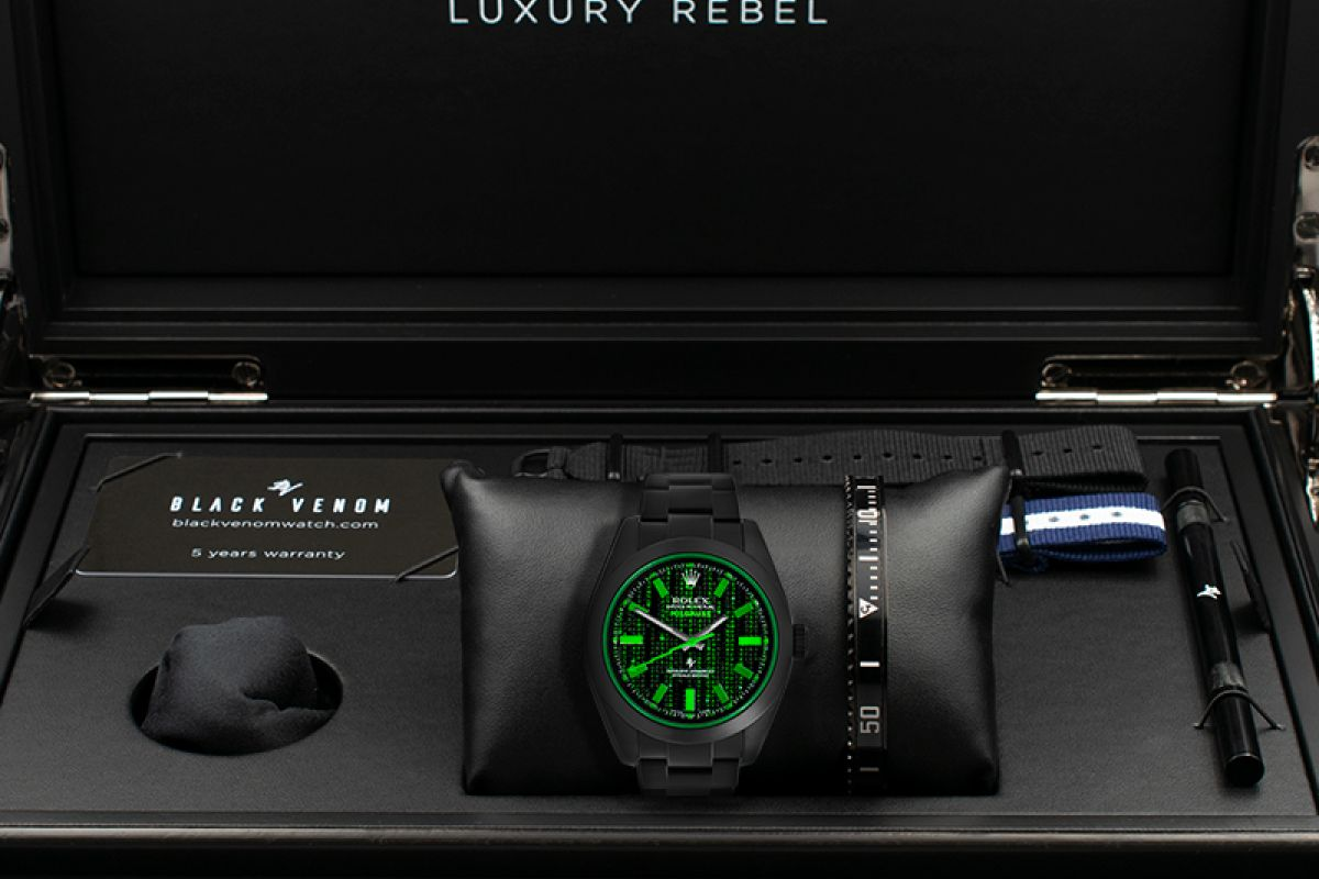 Rolex Matrix - Limited Edition /10 Black Venom Dlc - Pvd