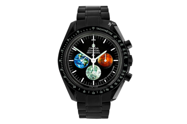 Moonwatch From the moon to mars Limited Edition /5 Black Venom Dlc - Pvd