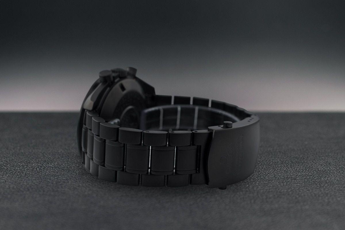 Omega Moonwatch dark  Limited Edition /10 Black Venom Dlc - Pvd