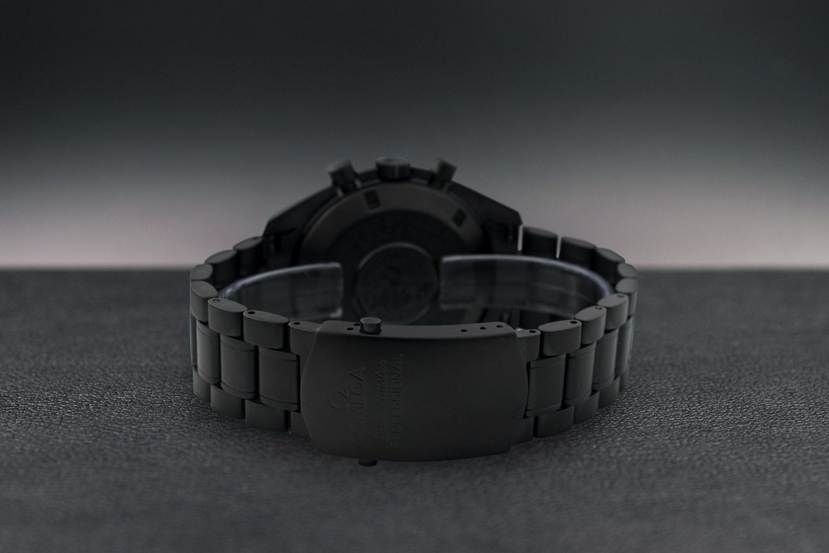Omega Moonwatch Apollo 15 Limited Edition 5 Black Venom Dlc - Pvd