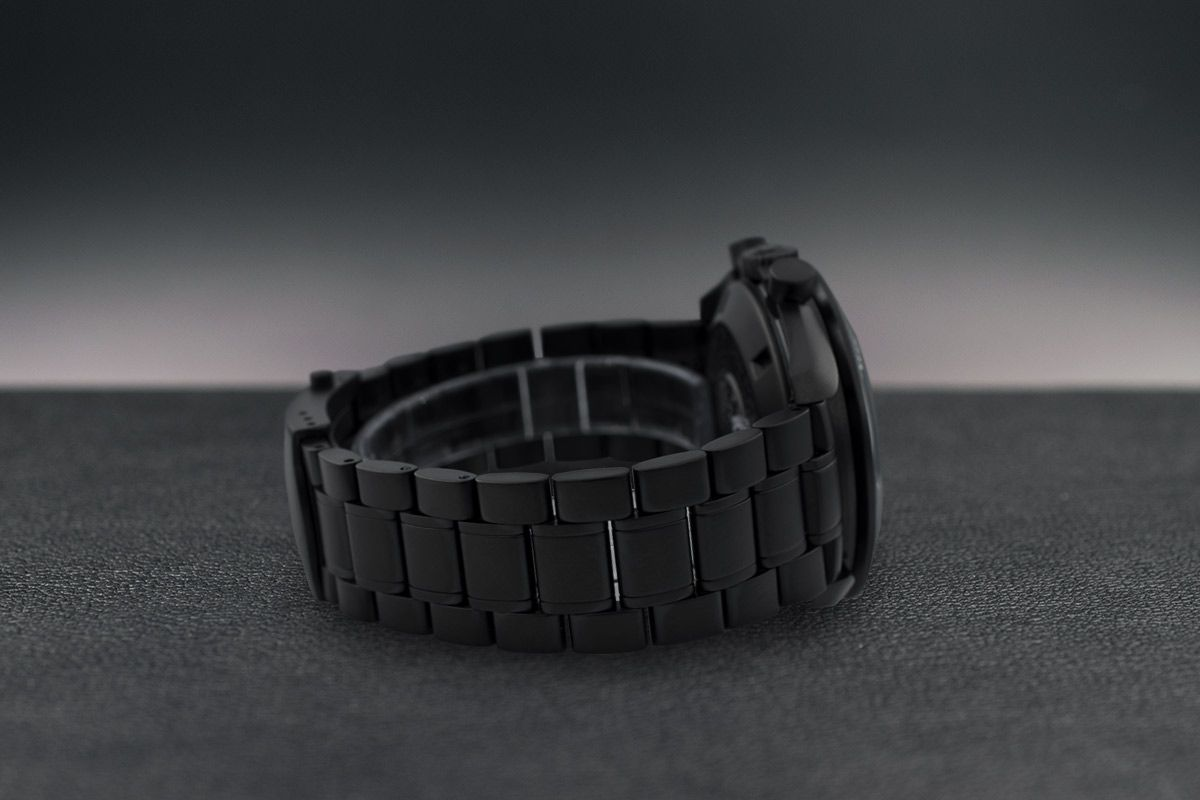 Omega Moonwatch SnoopyLimited Edition /1 Black Venom Dlc - Pvd