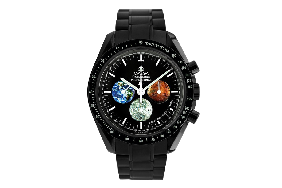 discount look out for lowest discount Omega Moonwatch From the moon to mars Black Venom - Limited Edition /5