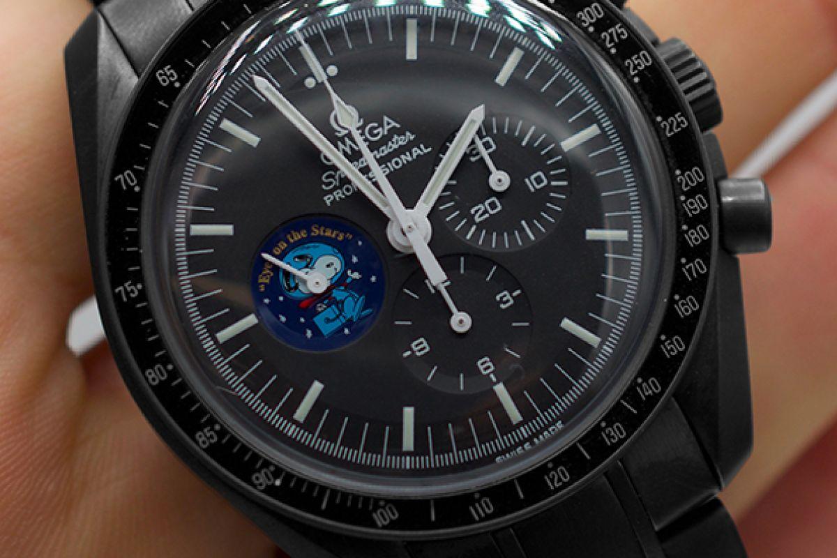 Omega Moonwatch SnoopyLimited Edition /1 Black Venom Dlc - Pvd