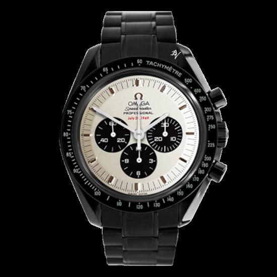Omega Moonwatch Apollo11  Black Venom Dlc - Pvd
