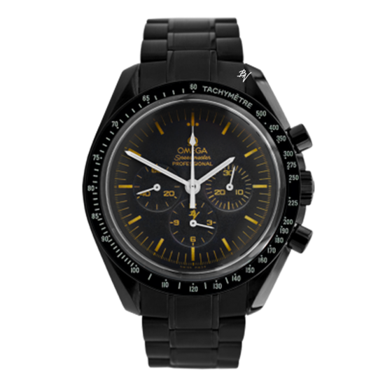 Omega Moonwatch Speedmaster Gold Limited Edition /5 Black Venom Dlc - Pvd