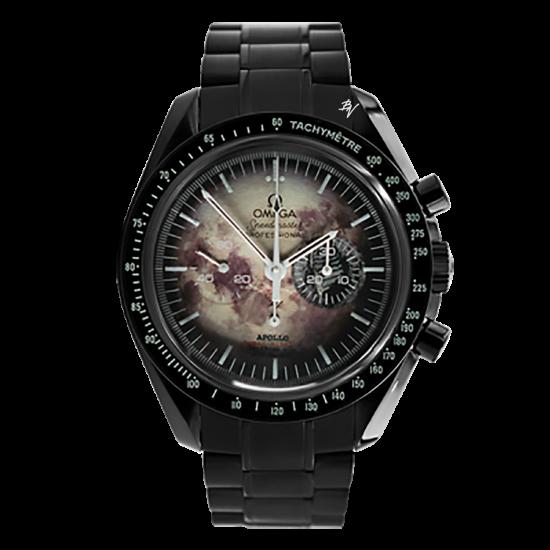Omega Moonwatch Speedmaster Lunar mission  Limited Edition /5 Black Venom Dlc - Pvd