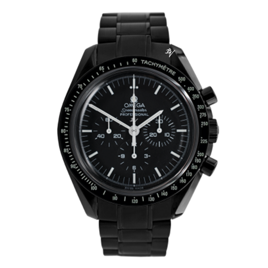 Omega Moonwatch dark  Limited Edition /10 Black Venom Dlc - Pvd