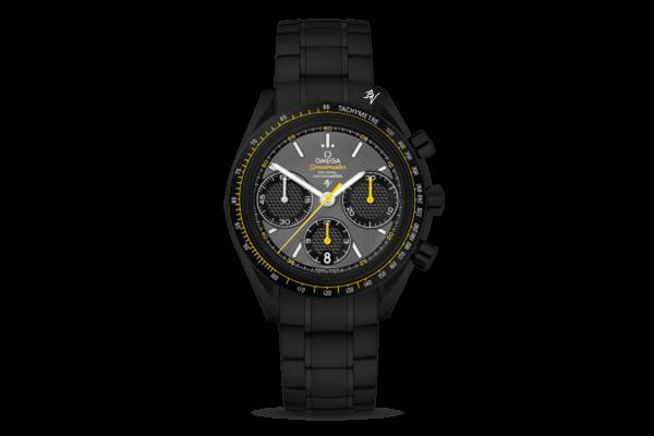 Racing Co-Axial Chronograph  Black Venom Dlc - Pvd
