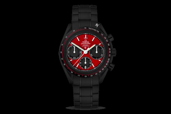 Racing Co-Axial ChronographLimited Edition /10 Black Venom Dlc - Pvd